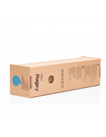 Butelka termiczna Rags'y 500 ml - Snowflake White