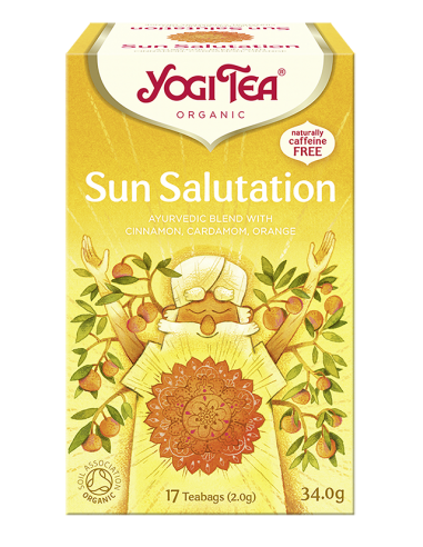 Yogi Tea Herbata SUN SALUTATION...