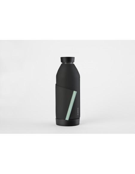 Butelka Closca 2.0 + infuser - Black Glacier, 420ml