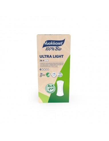 Vuokkoset, BIO, Wkładki higieniczne Ultra Light, 24 szt