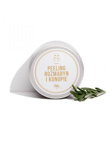 Peeling Rozmaryn i Konopie, 250 ml