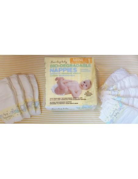 Beaming Baby, size 1, pieluszki Mini 2-5 kg, 20 szt.
