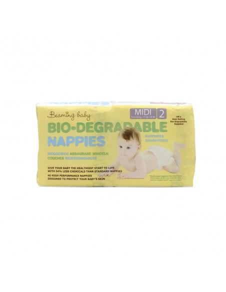 Beaming Baby, size 2, pieluszki Midi 5 - 8 kg, 40 szt.